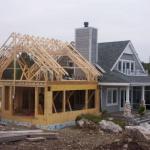 Покраска дома из оцилиндрованного бревна. Главные приницпы строительства деревянноо дома.