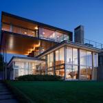 Дом из поликарбонатом