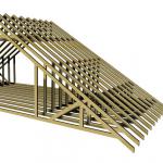 Каркас крыши одноэтажного дома своими руками