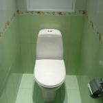 Идеи с панелями ПВХ для ванной