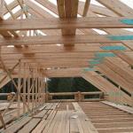 Реконструкция старой крыши в деревянном доме