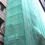 Фасадная сетка делается
