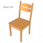 Изготовление стульев на дому