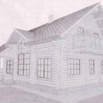 Смета на дом из оцилиндрованного бревна