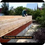 Строительство деревянных домов из обрезной доски