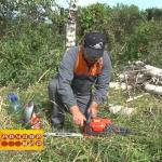 Ютуб ремонт стартера бензопилы форворд