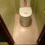 Ремонт туалета своими руками панелями