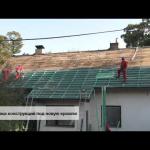 Технология крепления крыши брусового дома
