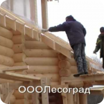 Дома из оцилиндрованного бревна Омск