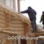 Дома из оцилиндрованного бревна Иркутск