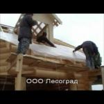Дом из бревна лиственницы Ярославль