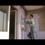 Отделка кирпичной стены гипсокартоном