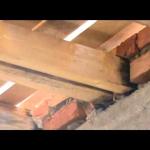 Средний вес деревянного перекрытия