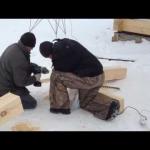 Оптимальный калибр бруса для зимнего дома