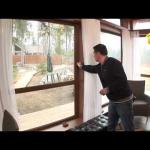 Дом с витражными окнами