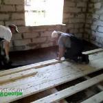 Звукоизоляция перекрытий в деревянном доме