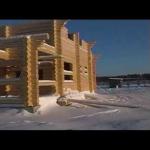 Дома из оцилиндрованного бревна новгородская