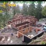 Как построить дом из бруса деревянного?