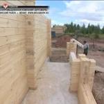 Строительство из калиброваннjuj брусf
