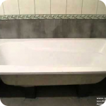 Как установить акриловую ванну на кирпичи?