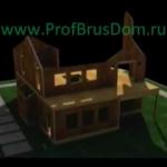 Внутренняя отделка домов из бруса 8х8