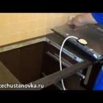 Как установить газовую варочную панель?