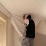 Шнурок для натяжных потолков