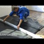 Стягивание бревенчатого дома лебедкой