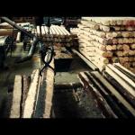 Мини станок для цилиндровки бревен