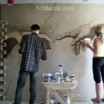 Что нарисовать на стене?
