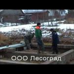 Проекты домов из цилиндрического бревна курган