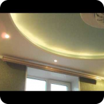 Потолки из гипсокартона своими руками