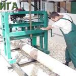 Скачать видео работы с деревянным брусом