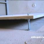 Монтаж деревянного пола в частном доме