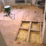 Лаги для пола в деревянном доме