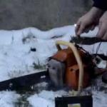 Бензопила тайга ремонт
