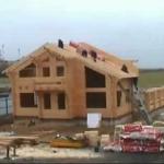 Фото домов из оцилиндрованного бруса одноэтажные