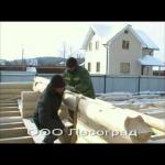 Дома из ацелендрованного сруба в Башкирии