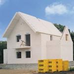 Крыша для дома из газобетона фото