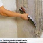 Оштукатуривание стен в панельном доме