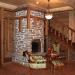 Отделка гипсокартоном деревянных стен