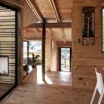 Интерьер деревенского срубового дома