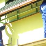 Чем отделать карниз деревянного дома
