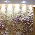 Различные виды отделки стен