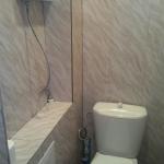 Панели в туалете