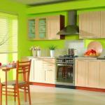 Современная отделка стен на кухне