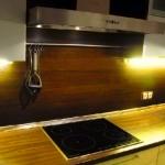Отделка стен кухни панелями мдф фото