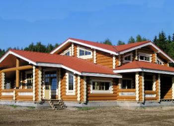 Дома из бревна Омск