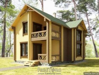 Деревянные дома из оцилиндрованного бревна Архангельск