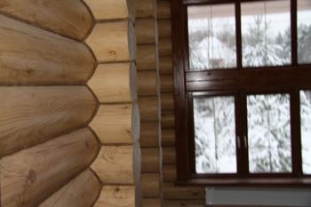 Как шлифовать деревянные дома самому?